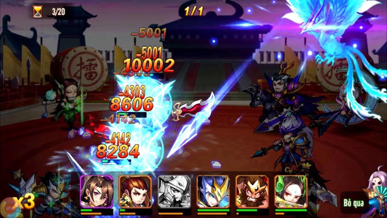 OMG 3Q - Mã Siêu đại chiến Quách Gia