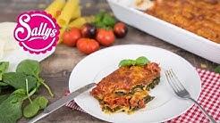 Cannelloni mit cremiger Spinat-Käsefüllung / Sallys Welt