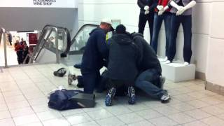 Shoplifter Arrest in Pacific Centre