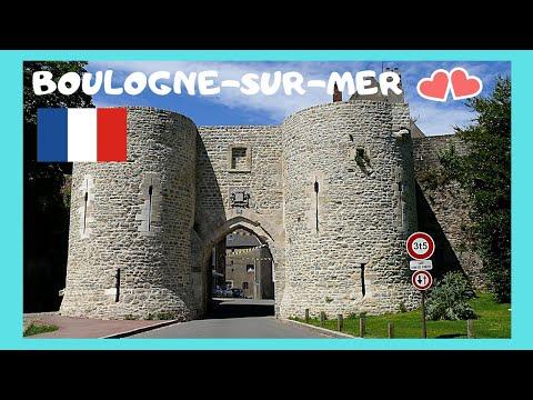 BOULOGNE-SUR-MER: The stunning 🏰 medieval walls, let's go! (FRANCE)