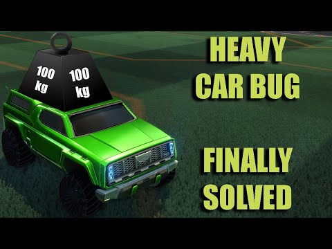 Heavy Car Bug Workaround   Priority Fix   Rocket League