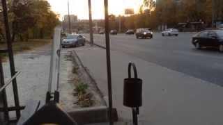 Уровень шума дороги(Шум дороги на автобусной остановке. Средний эквивалентный уровень звука на автобусной остановке Выставоч..., 2014-10-19T16:11:36.000Z)