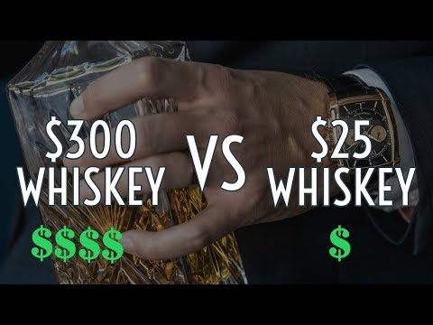 $300 vs $25 Whiskey || WORTH IT?? 2018 ||  Gent's Lounge Whisky
