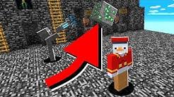 ich klaue seine Emeralds mit Gravity Gun😂 in Minecraft LUCKY BLOCK BEDWARS