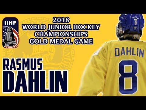 Rasmus Dahlin 2018 World Junior Hockey Championship Gold Medal Game - Beer League Heroes