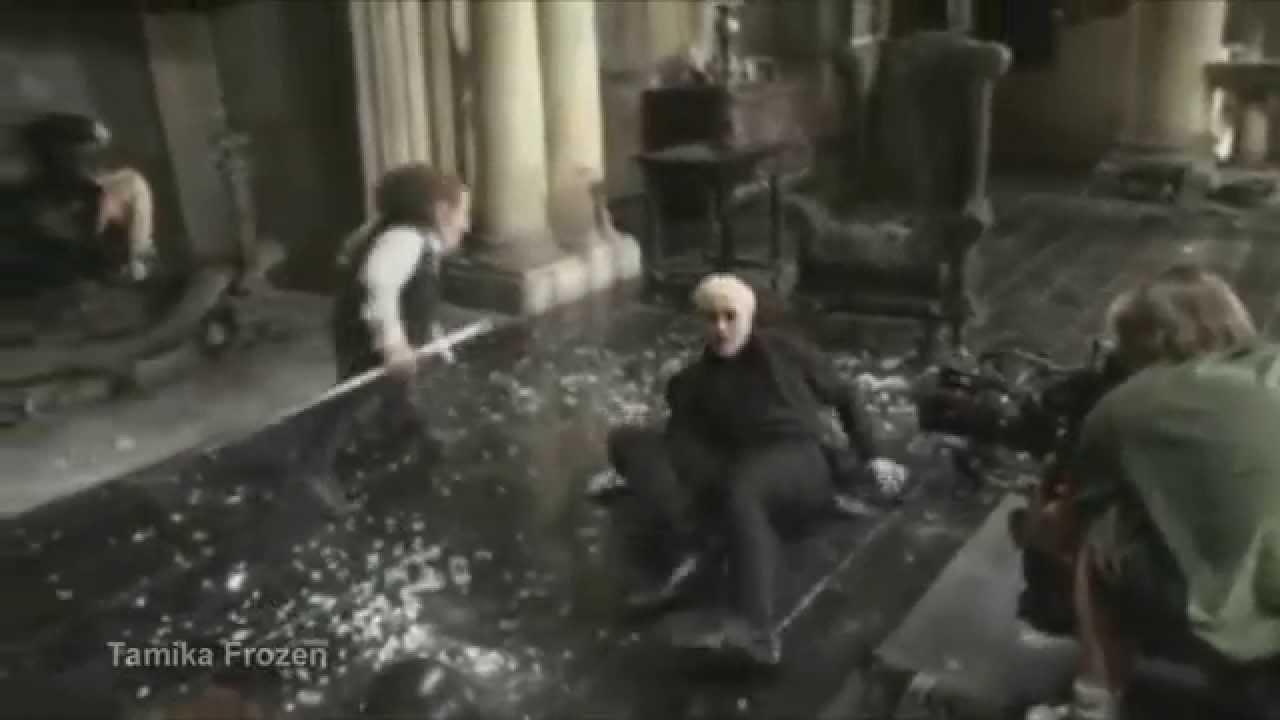 Гарри поттер съемки за кадром актеры фильмов гарри поттер