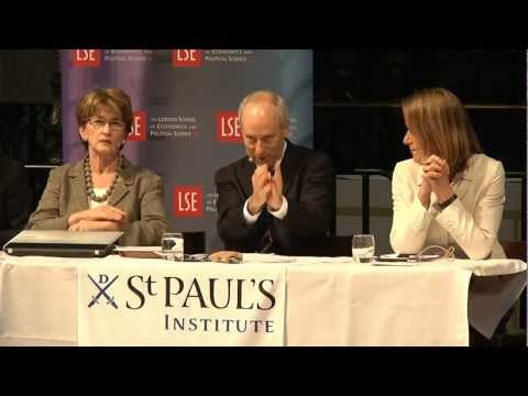 What Money Can't Buy - Public debate with Michael Sandel at St Paul's Cathedral