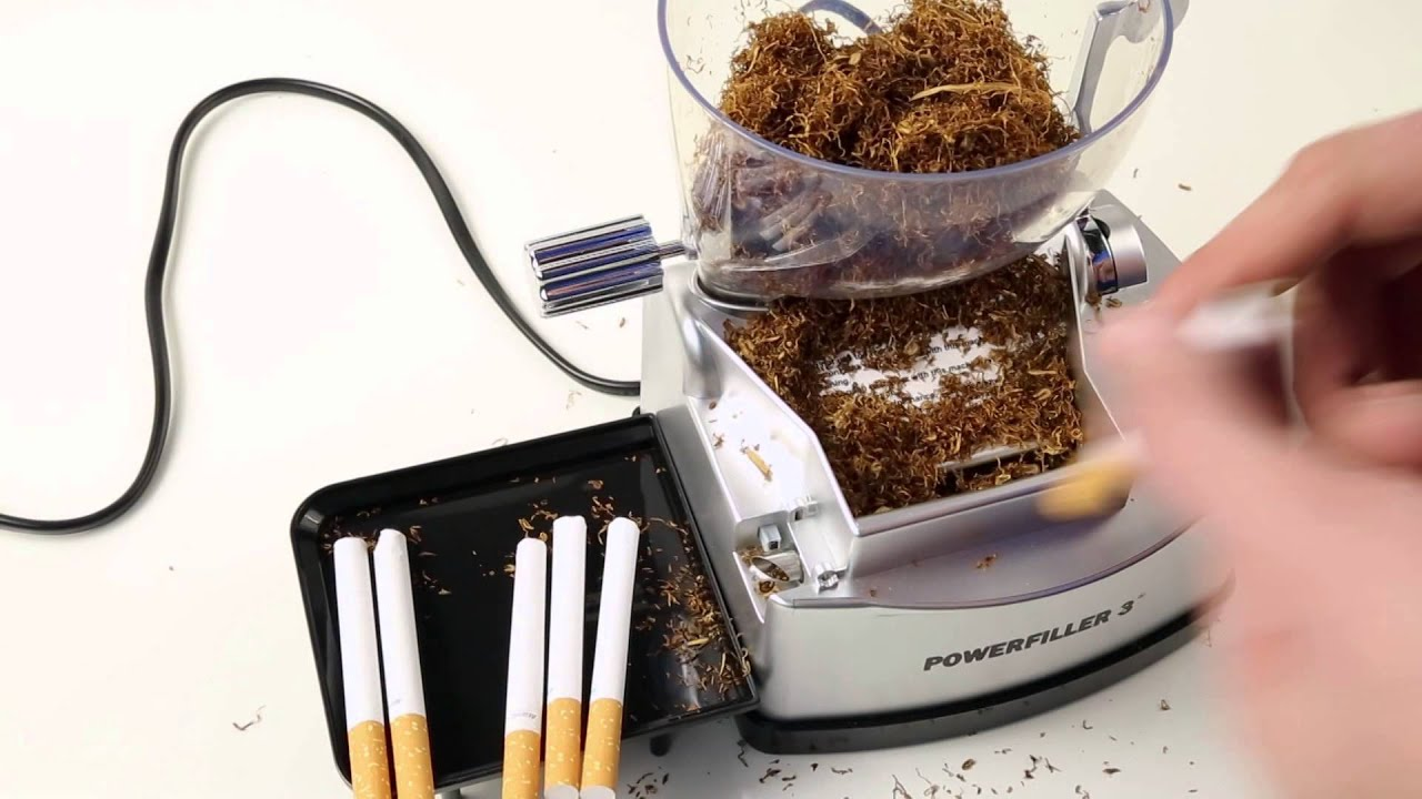 Powerfiller 3 Električna Mašina Za Punjenje Cigareta