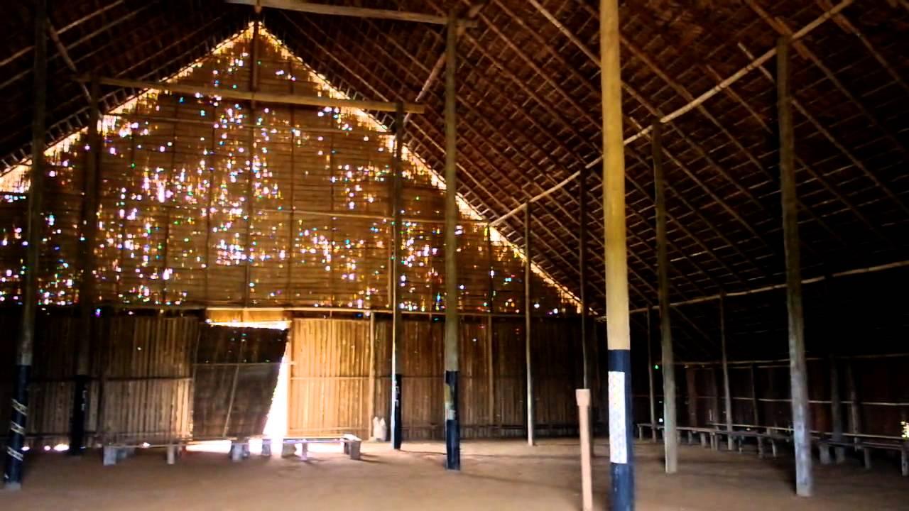 Interior de la Maloka Ipanor en Mit Vaups  YouTube