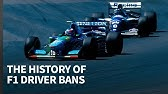 Every driver ban in F1 history