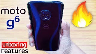 MOTO G6 - Unboxing & Hands on Review! Quick Tips & Tricks!!🔥🔥🔥