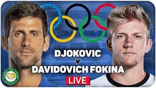 DJOKOVIC vs DAVIDOVICH FOKINA   Tokyo Olympics 2020
