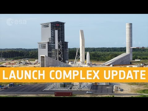Ariane 6 launch complex - September 2019