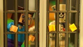ЛЕГО ТЮРЬМА ? Лего НУБик Майнкрафт Мультики - LEGO Minecraft FNAF Animation