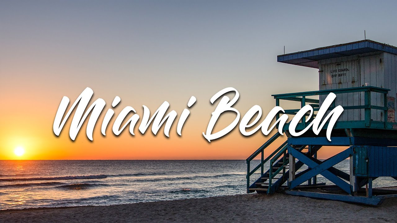 miami beach sunrise front view hd youtube. Black Bedroom Furniture Sets. Home Design Ideas