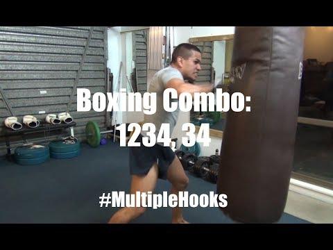 Boxing Combo for Heavy Hooks - 1234, 34