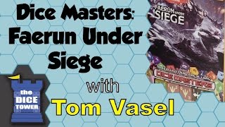 D&D Dice Masters: Faerûn Under Siege Review - with Tom Vasel