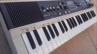 Casio, Casiotone, MT-70, Vintage mini Keyboard with Analog Drums! Sounds & Rhythms