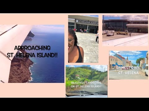 My arrival on St  Helena Island!!