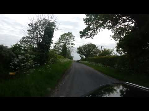 Driving Home In The Ford Popular 103E