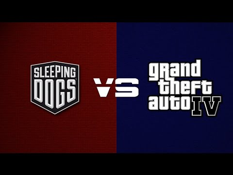 Sleeping Dogs VS GTA IV | SIDE BY SIDE PROOF!
