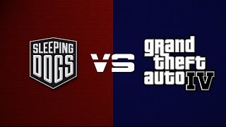 Sleeping Dogs VS GTA IV | SIDE BY SIDE PROOF!