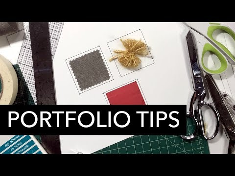 Portfolio Presentation: Cutting and Mounting Tips, Tricks, and Tools