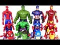 Marvel Avengers bigger and smaller transform rush! - DuDuPopTOY