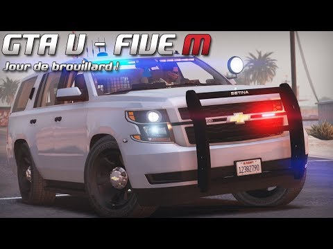 GTA 5 - Law Enforcement Live - Jour de brouillard ! (Five M)