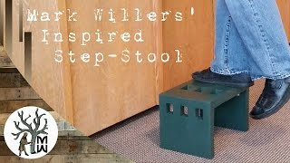 A Simple and Modern Step Stool (MonkWerks)