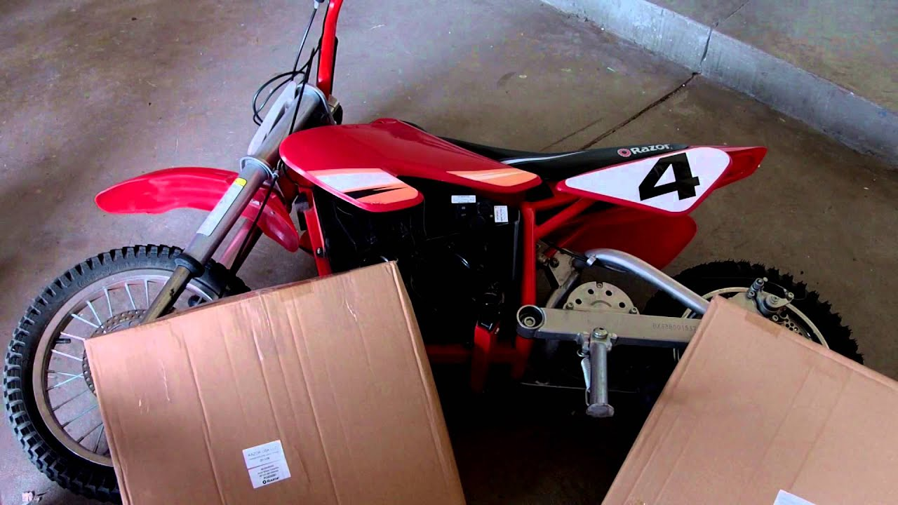 How To Fix Your Mx500 Mx650 Razor Dirt Bike And Find The Parts