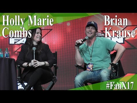 Charmed  Holly Marie Combs & Brian Krause  Full PanelQ&A  X 2017