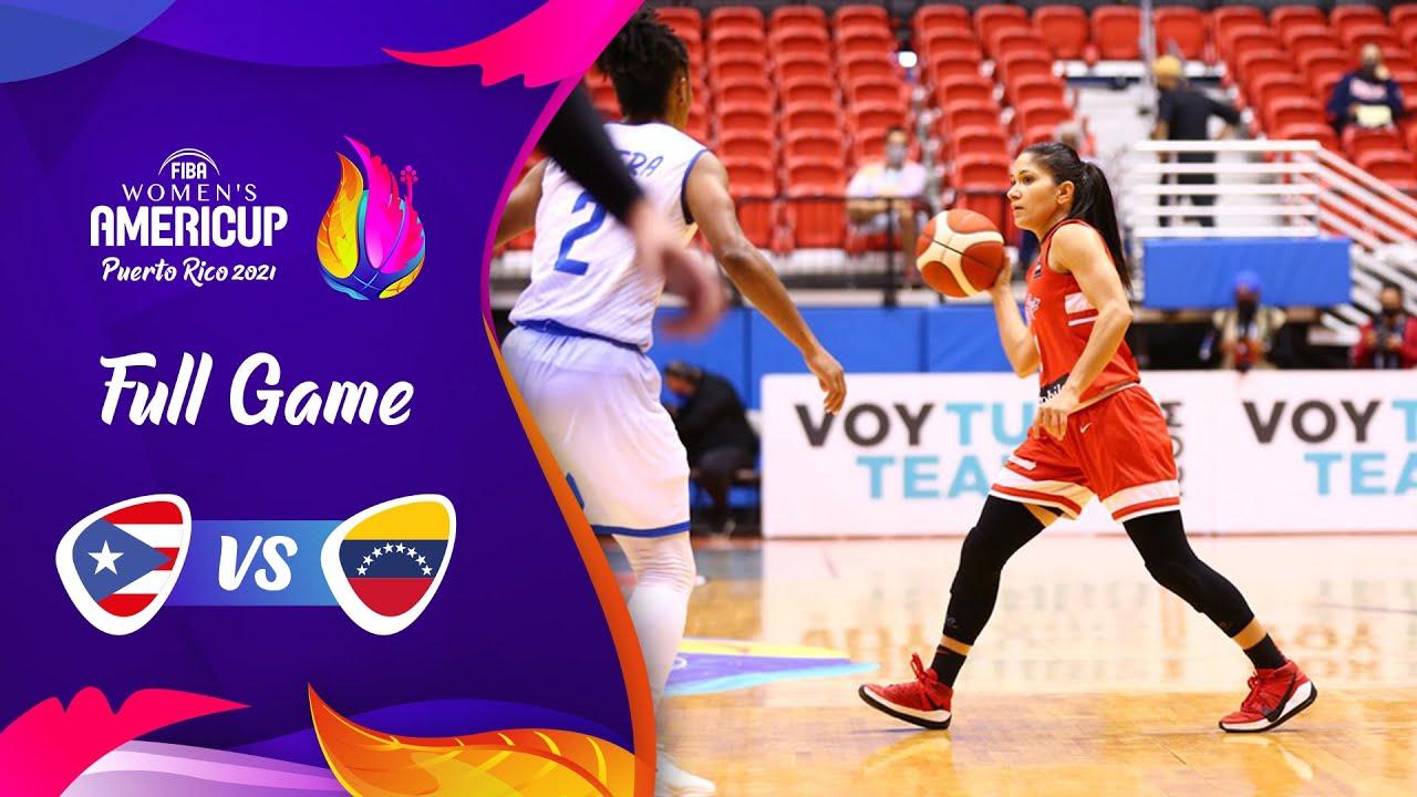 Puerto Rico v Venezuela | Full Game - FIBA Women's AmeriCup 2021