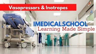 Medical School - Vasopressors & Inotropes: Intro and Dopamine