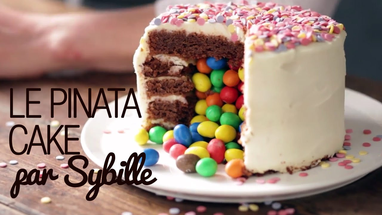 Gateau surprise aux smarties