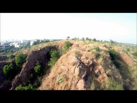 Aerial View of Aravalli Hills