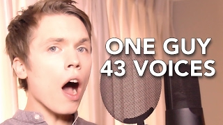 Repeat youtube video One Guy, 43 Voices (with music) - Roomie