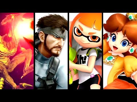 Super Smash Bros Ultimate ALL NEW CHARACTER TRAILERS (Switch)