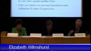 The International Criminal Court and the Crime of Aggression - Panel 3