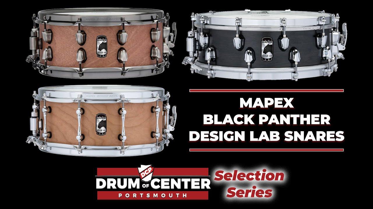 Mapex Black Panther Machete 6.5x14 Snare Drum BPST4651LN