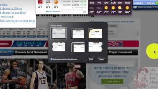 How to make a Dashboard Web Clip widget from a web page