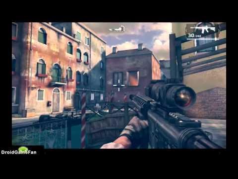 Modern Combat 5: Blackout - Graphics Test Nvidia Tegra 3