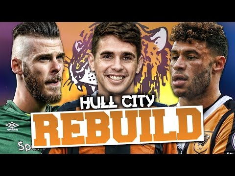 REBUILDING HULL CITY!!! FIFA 17 Career Mode