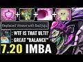 NEW IMBA HERO 7.20 Dazzle New Broken Ultimate Bad Juju + Holy Locket Endless Poison WTF Dota 2