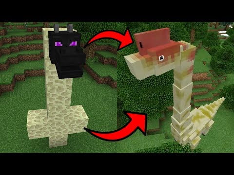 How To Spawn DINOSAURS In Minecraft PE