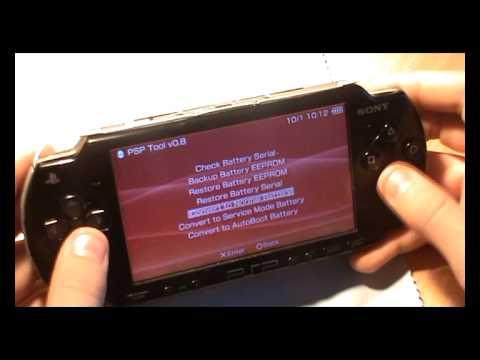 PSP battery portable - YouTube