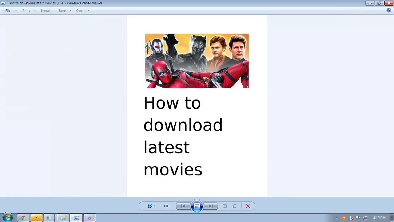 How to download any movies