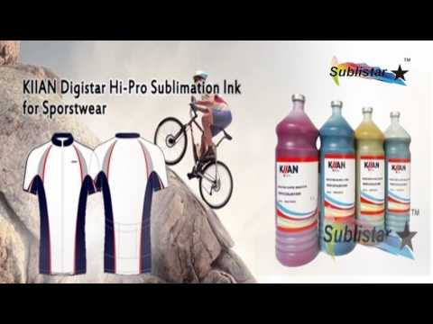 The Introduce for Italy Original Kiian Sublimation Ink - YouTube