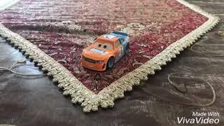 Disney Pixar Cars 3 Diecast Speedy Comet (Blinkr Racer Number 21)