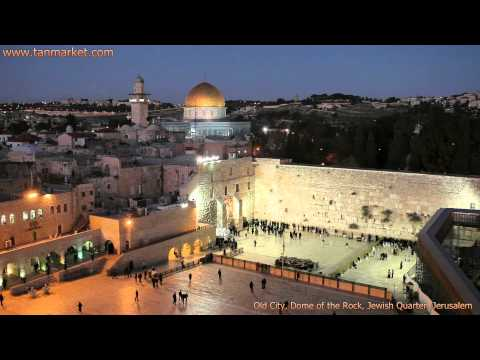 Old City, Dome of the Rock, Jewish Quarter Collage Video - tanviddeo11